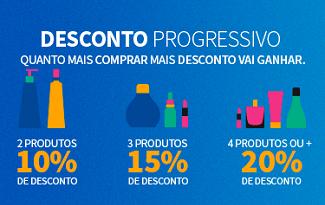 Aproveite o Desconto Progressivo com até 20% OFF em lista especial no site da Jequiti