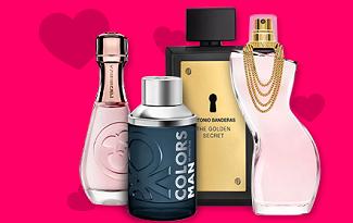 Cupom de 20% OFF em Perfumes selecionados no site da PagueMenos