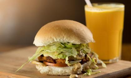 X-Vegetariano + Batata Frita + Bebida por R$35
