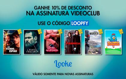 Assine o Vídeo Club no Looke com 10% de desconto!