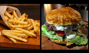 Combo Blt Burger + Batata Frita + Refrigerante por R$35