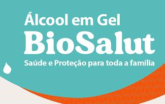 Até 30% OFF em Álcool em Gel 70 BioSalut no site da Embelleze