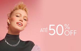 Até 50% OFF + 10% OFF EXTRA na marca Swarovski no site da OQVestir