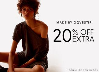 Cupom de 20% OFF em Market 33 e Basiq no site da OQVestir