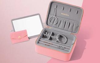 Ganhe um Porta Jóias especial de Dia dos Namorados no site da Pandora