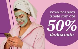Até 50% OFF em produtos para a pele no site da Droga Raia