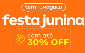 Até 30% OFF em produtos para Festa Junina em casa no site da Magazine Luiza