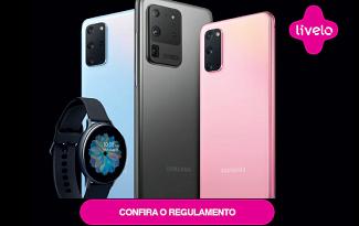 Compre o Galaxy S20, S20+ ou S20 ULTRA e ganhe um Galaxy Active2 no site da Casas Bahia
