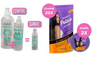 Confira as ofertas de Compre e Ganhe em Kits no site da Embelleze