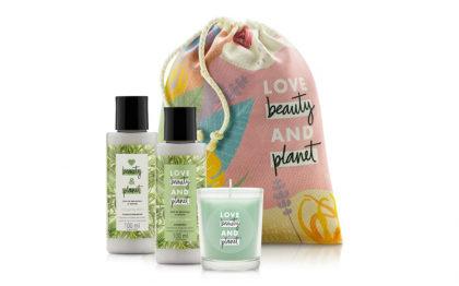 Desconto de 30% em kits presente da Love Beauty and Planet!