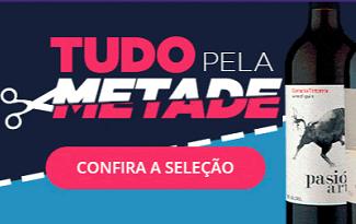 Seleção com 50% OFF no site da Vinho Fácil