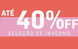Até 40% OFF + 10% OFF EXTRA em seleção de Inverno no site da Anacapri