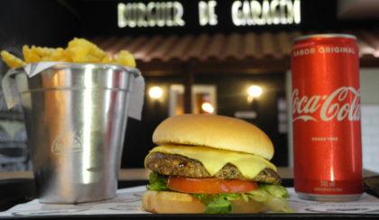 BDG Elo Bacon + Batata Crinkle individual + Coca Cola lata por R$35