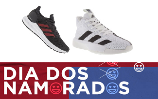 Cupom de 30% OFF em seleção Adidas Dia dos Namorados no site da Centauro