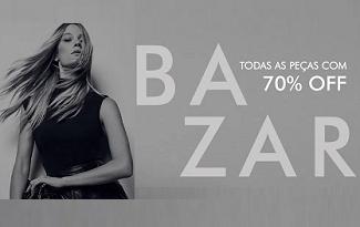 Até 70% OFF + 10% OFF EXTRA em seleção Bazar no site da Animale