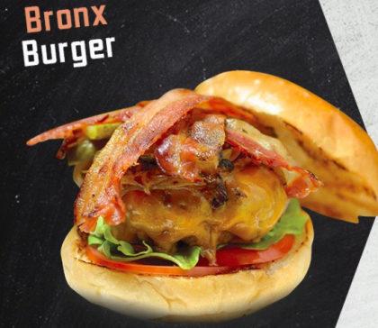 Bronx Burger + Batata Fritas + Coca-Cola por R$35