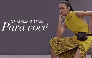 Toda coleção Mulheres com 50% OFF + 25% OFF EXTRA no site da Animale