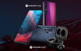 Compre seu Motorola Edge na pré-venda e Ganhe fone Vervebuds 100 no site da Casas Bahia