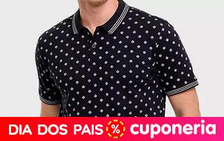 Ganhe 50% OFF na compra da segunda Camiseta ou Polo em lista especial no site da Marisa