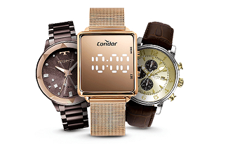 Cupom de 15% OFF em seleção de Relógios no site do Carrefour