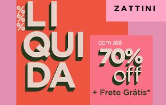 Até 70% OFF + Frete Grátis na LIQUIDA INVERNO no site da Zattini