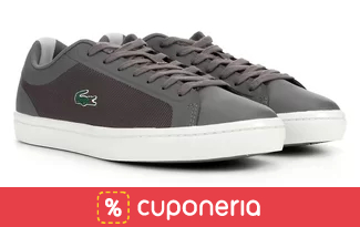 Exclusivo: Cupom de 23% OFF + Frete Grátis em seleção Lacoste no site da Zattini