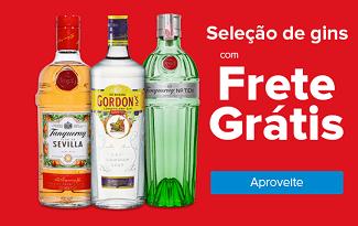 Ganhe R$15 OFF + Frete Grátis em seleção de Gins no site do Carrefour