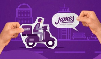 GANHE R$ 15 de frete no James para compras acima de R$ 20!