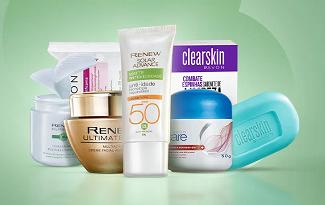 Rotina Skincare com até 40% OFF + 10% OFF EXTRA no site da Avon