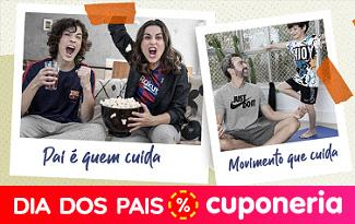 Cupom Dia dos Pais Centauro: até 80% OFF + 25% OFF EXTRA em seleção especial no site