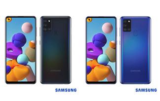 Até 20% OFF + Cupom de R$ 150 OFF no Samsung Galaxy A21S no site da Fast Shop