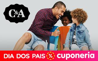 Até 60% OFF + FRETE GRÁTIS na coleção Dia dos Pais no site da C&A