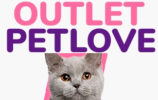 Confira o Outlet com até 40% OFF + 10% OFF EXTRA no site da Petlove