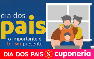 Cupom de até 20% OFF em coleção Dia dos Pais no site do Extra