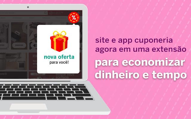 Cuponeria lança a extensão para o Chrome que encontra descontos nos seus sites favoritos!