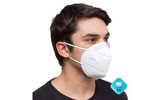 Cupom de 10% OFF em Máscara Facial Protetora KN95 no site do Carrefour