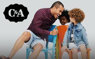 Até 60% OFF + 10% OFF EXTRA na categoria Moda Masculina para o Dia dos Pais no site da C&A