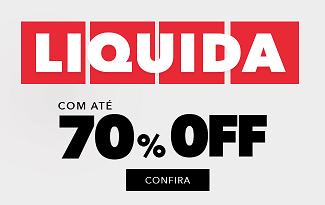 Até 70% OFF + 10% OFF EXTRA + Frete Grátis em seleção Liquida no site Studio Z