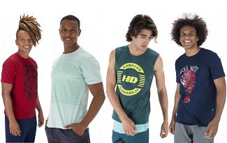 Liquidação + Cupom: 6 camisetas por R$139,99 no site da Centauro!