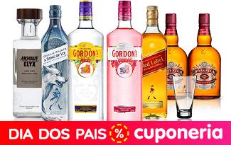 Bebidas para comemorar no Dia dos Pais com até 25% OFF no site da Fast Shop
