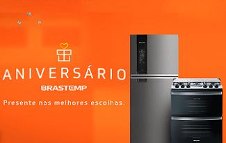 Aniversário Brastemp com cupons de até R$500 OFF em seleção especial no site da Brastemp