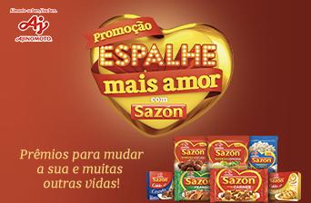 Promoção Espalhe Mais Amor com Sazón e concorra a R$ 500 mil!