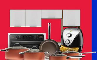 Cupom Casas Bahia de até 20% em seleção Cozinha de Chef no site