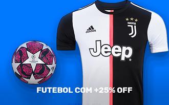 Cupom de 25% OFF na melhor seleção de itens de Futebol no site da Centauro