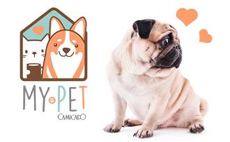 Coleção My Pet com cupom Camicado de 10% OFF no site