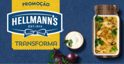 Promoção Hellmann's Transforma: Compre Hellmann's e Ganhe Selos para trocar por Prêmios