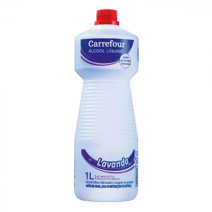 Álcool Líquido da marca Carrefour 1L com 20% de desconto!