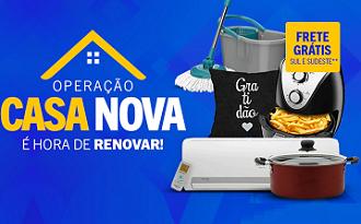Até 45% OFF + Cupom Casas Bahia de 15% OFF EXTRA na Operação Casa Nova no site