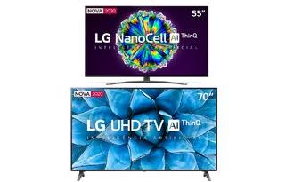 Ganhe R$200 OFF em seleção de Smart TVs no site do Carrefour