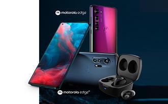 Compre seu novo Motorola Edge ou Edge+ e ganhe um Vervebuds 100 no site da Fast Shop